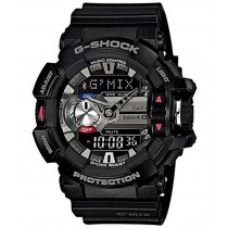 G-Shock Bluetooth Analog-Digital Black Dial Men's Watch