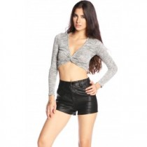 Knotty By Nature Crop Top